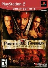 PIRATES OF THE CARIBBEAN THE LEGEND OF JACK SPARROW (usagé)