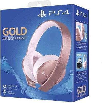 GOLD WIRELESS STEREO HEADSET ROSE GOLD SONY