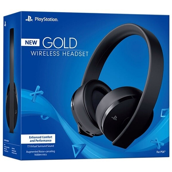 GOLD WIRELESS STEREO HEADSET BLACK SONY