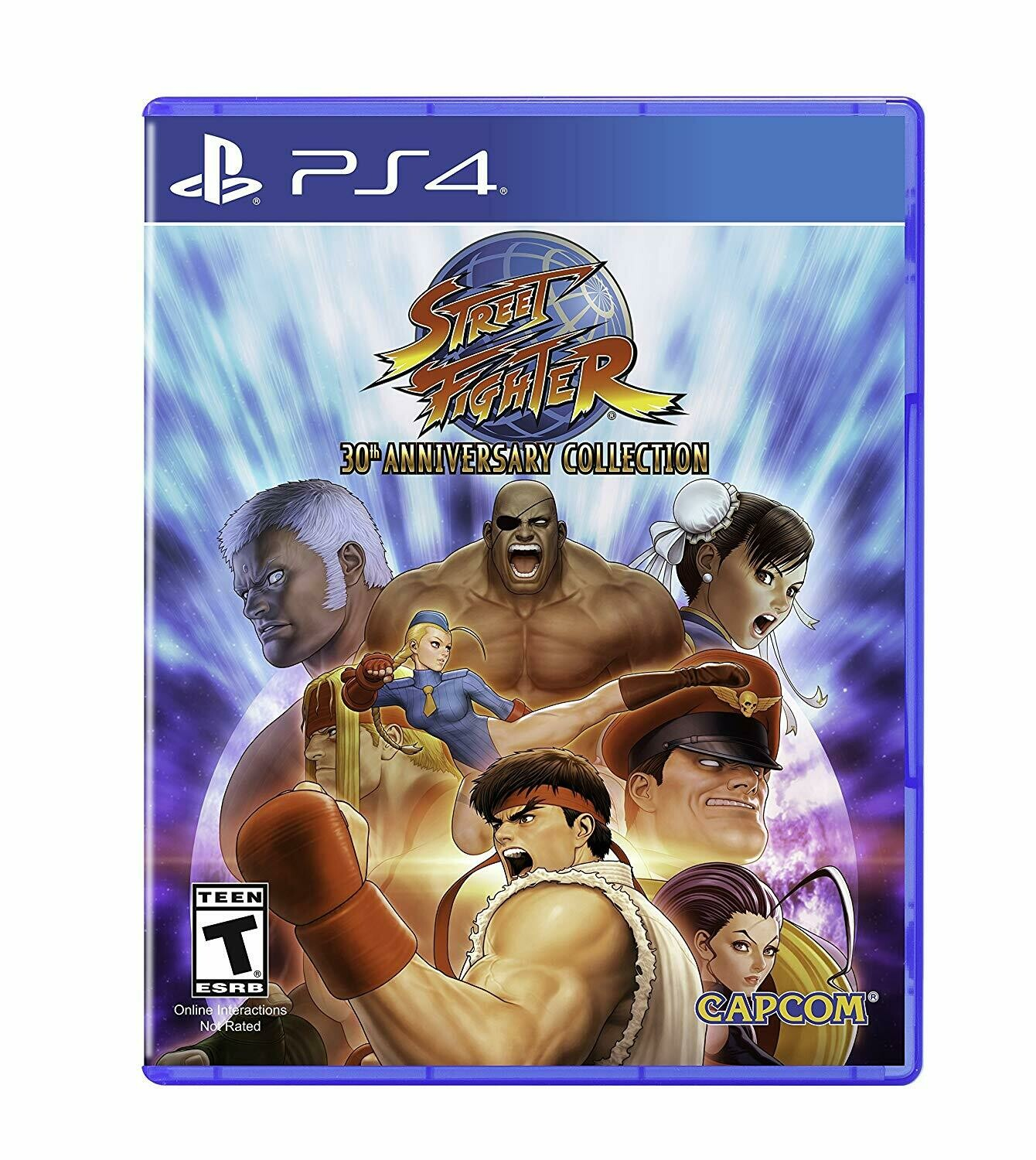 STREET FIGHTER 30TH ANNIVERSARY COLLECTION (usagé)