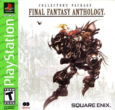 FINAL FANTASY ANTHOLOGY GREATEST HITS (COMPLETE IN BOX) (usagé)