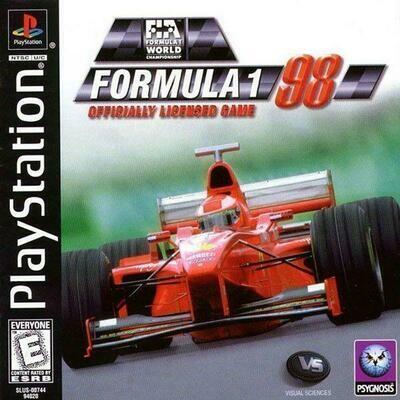 FORMULA 1 98 (COMPLETE IN BOX) (usagé)