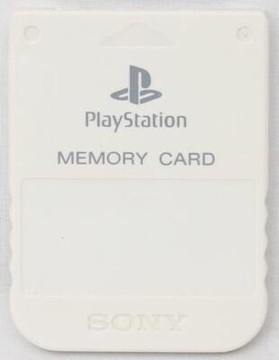 MEMORY CARD WHITE SONY (usagé)
