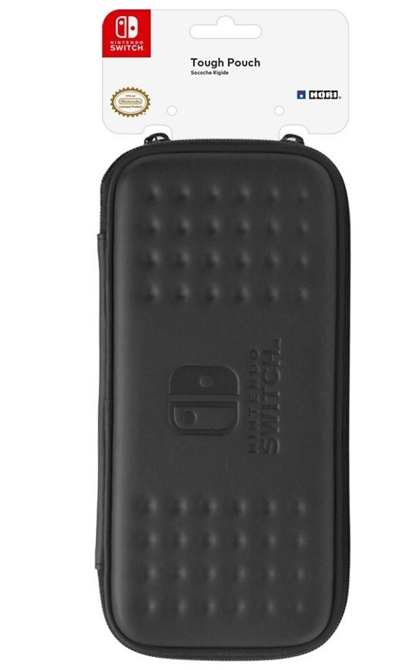 CARRY CASE TOUGH POUCH BLACK HORI