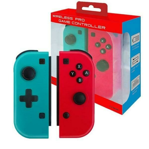 JOY CON CONTROLLER 2 PACK RED & BLUE JOBBER WIRELESS ONLY