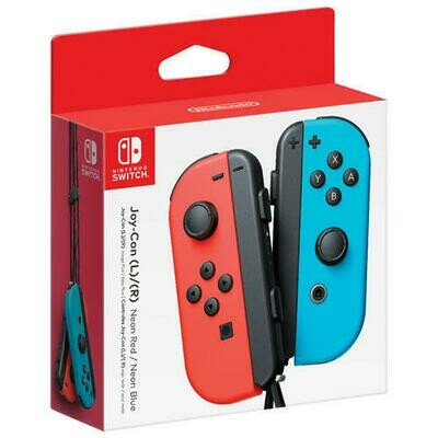 JOY CON CONTROLLER 2 PACK RED & BLUE