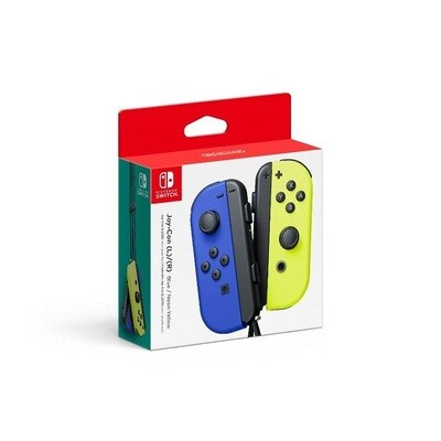 JOY CON CONTROLLER 2 PACK BLUE & YELLOW