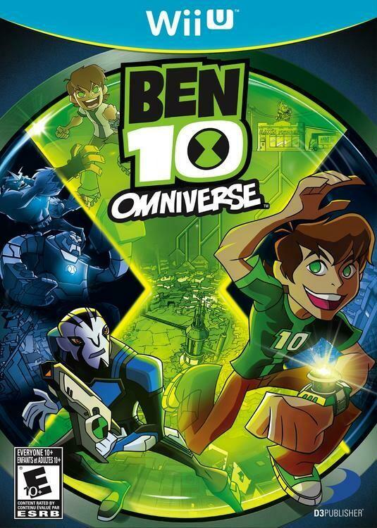 BEN 10 OMNIVERSE (usagé)