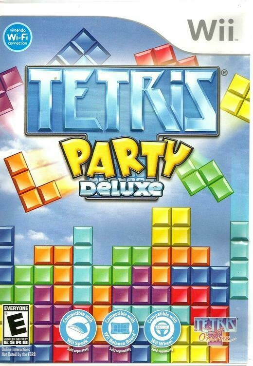 TETRIS PARTY DELUXE (COMPLETE IN BOX)