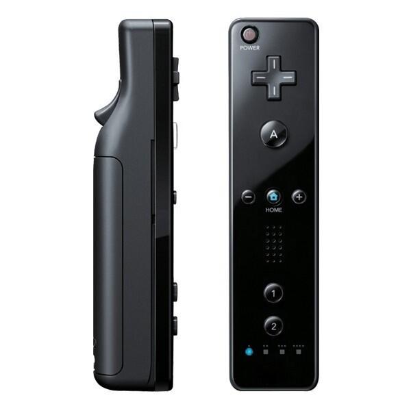 CONTROLLER REMOTE BLACK NINTENDO (usagé)