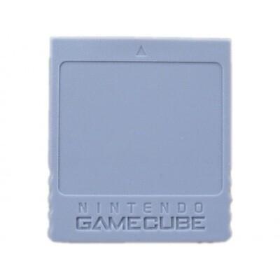 MEMORY CARD 4MB / 59 BLOCKS NINTENDO (usagé)