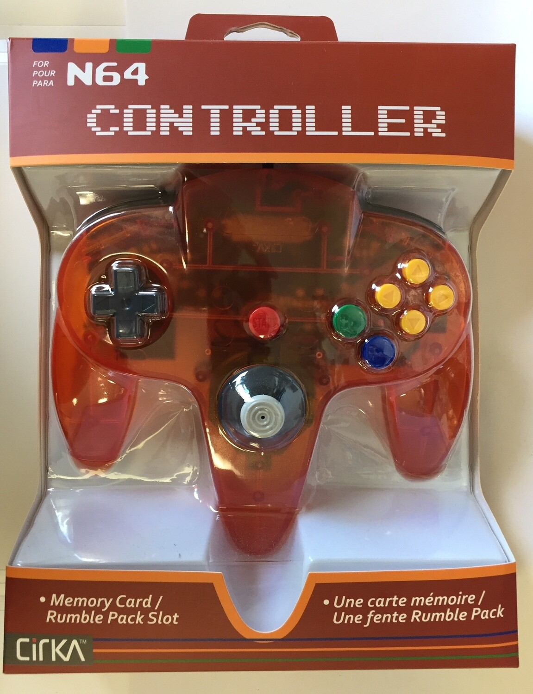 CONTROLLER CLEAR ORANGE JOBBER (usagé)