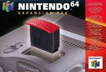 EXPANSION PAK NINTENDO (COMPLETE IN BOX) (usagé)