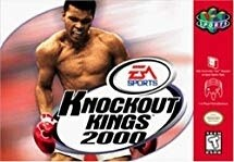 KNOCKOUT KINGS 2000 (COMPLETE IN BOX) (usagé)