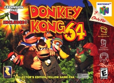 DONKEY KONG 64 (COMPLETE IN BOX) (usagé)