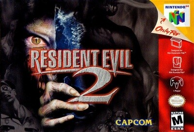 RESIDENT EVIL 2 (COMPLETE IN BOX) (usagé)