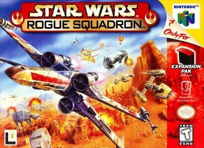 STAR WARS ROGUE SQUADRON (COMPLETE IN BOX)
