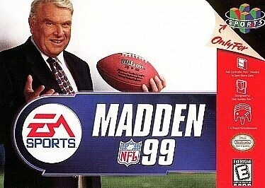 MADDEN 99 (COMPLETE IN BOX) (usagé)