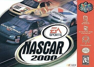 NASCAR 2000 (COMPLETE IN BOX) (usagé)