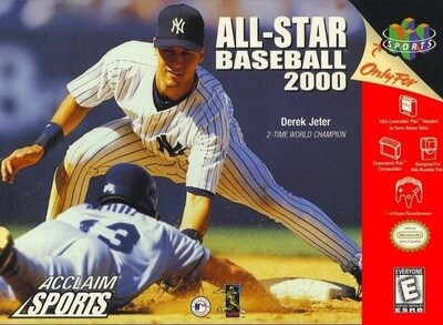 ALL-STAR BASEBALL 2000 (COMPLETE IN BOX) (usagé)
