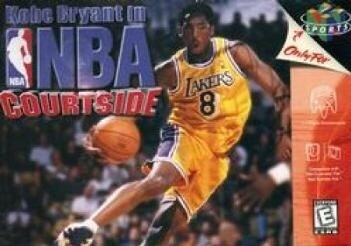 KOBE BRYANT IN NBA COURTSIDE (COMPLETE IN BOX) (usagé)