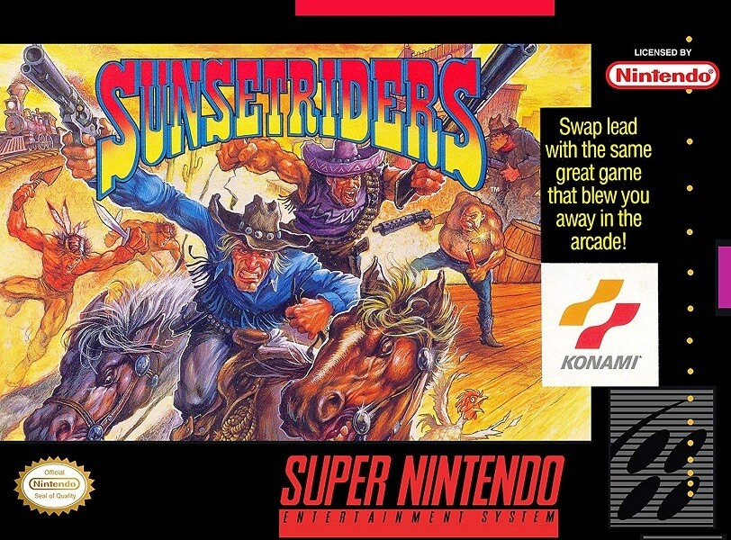 SUNSET RIDERS (COMPLETE IN BOX) (usagé)
