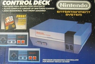 NINTENDO ENTERTAINMENT SYSTEM CONTROL DECK (usagé)
