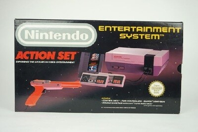 NINTENDO ENTERTAINMENT SYSTEM ACTION SET (usagé)