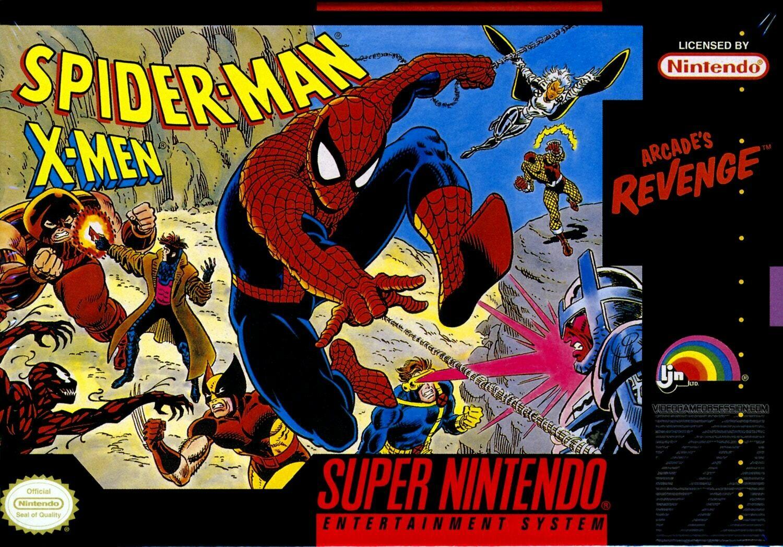 SPIDERMAN X-MEN ARCADE'S REVENGE (usagé)