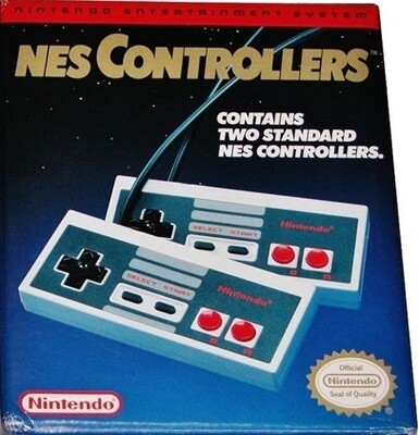 CONTROLLER DUAL-PACK NINTENDO (COMPLETE IN BOX) (usagé)