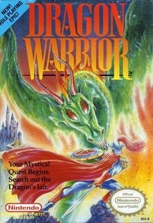 DRAGON WARRIOR (COMPLETE IN BOX) (usagé)