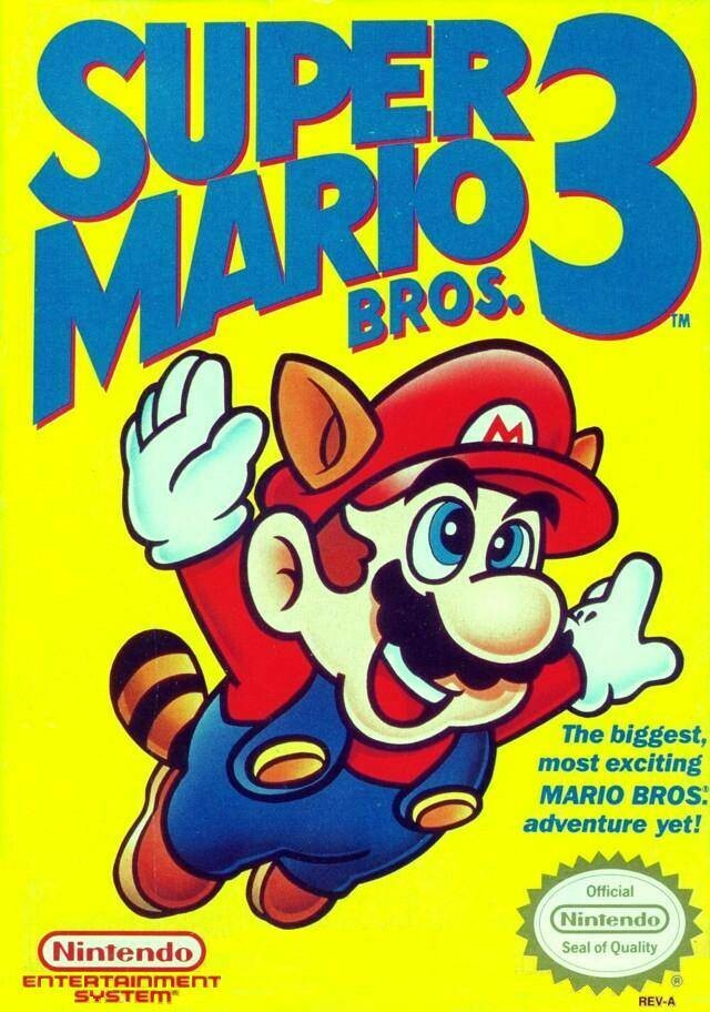 SUPER MARIO BROS 3 (COMPLETE IN BOX)