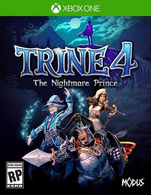 TRINE 4 THE NIGHTMARE PRINCE (usagé)