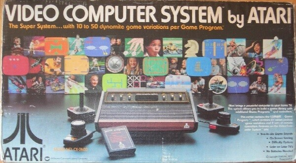 ATARI 2600 SYSTEM (COMPLETE IN BOX) (usagé)