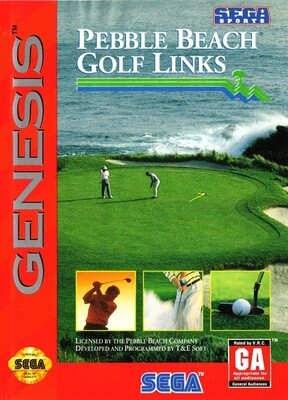 PEBBLE BEACH GOLF LINKS (COMPLETE IN BOX) (usagé)