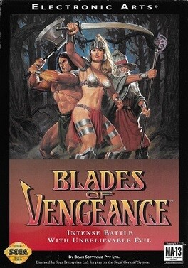 BLADES OF VENGEANCE (WITH BOX) (usagé)