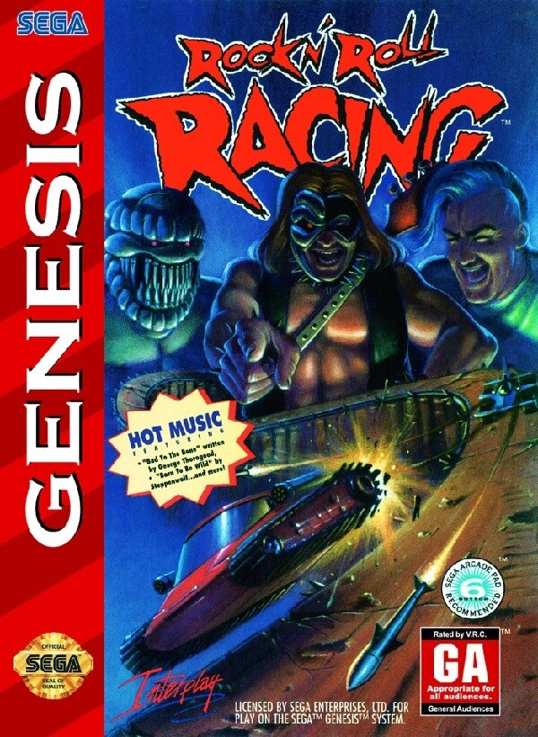 ROCK N' ROLL RACING (usagé)