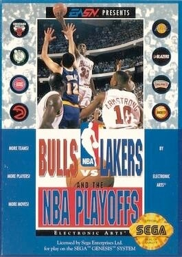 BULLS VS. LAKERS AND THE NBA PLAYOFFS (usagé)