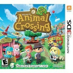ANIMAL CROSSING NEW LEAF (COMPLETE IN BOX) (usagé)