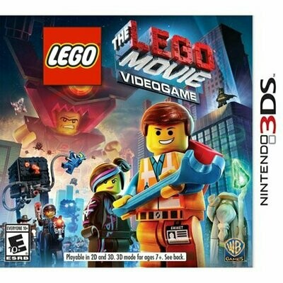 LEGO THE MOVIE VIDEO GAME (WITH BOX) (usagé)