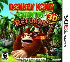 DONKEY KONG COUNTRY RETURNS 3D (WITH BOX) (usagé)