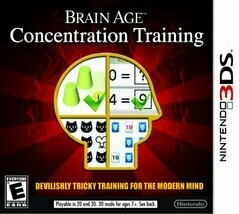 BRAIN AGE CONCENTRATION TRAINING (WITH BOX) (usagé)