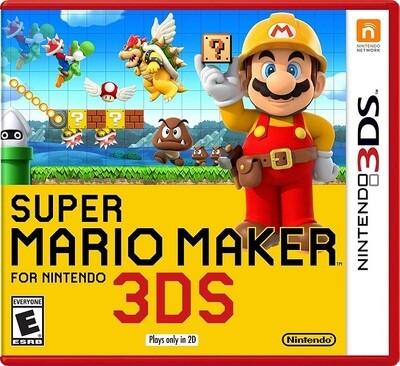 SUPER MARIO MAKER (WITH BOX) (usagé)