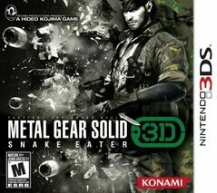 METAL GEAR SOLID SNAKE EATER 3D (COMPLETE IN BOX) (usagé)