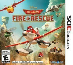 DISNEY PLANES FIRE AND RESCUE (COMPLETE IN BOX)