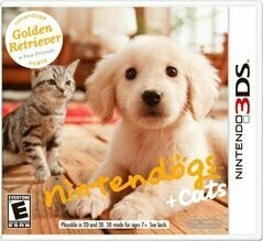 NINTENDOGS + CATS GOLDEN RETRIEVER & NEW FRIENDS (usagé)