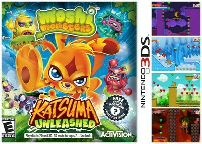 MOSHI MONSTERS KATSUMA UNLEASHED (COMPLETE IN BOX)