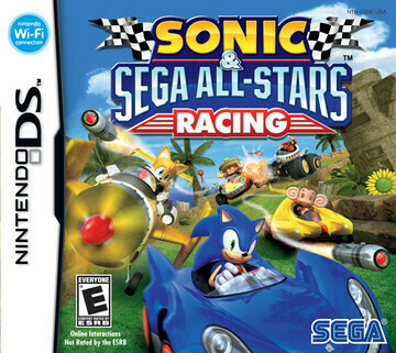 SONIC AND SEGA ALL-STARS RACING (usagé)