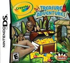 CRAYOLA TREASURE ADVENTURES (usagé)