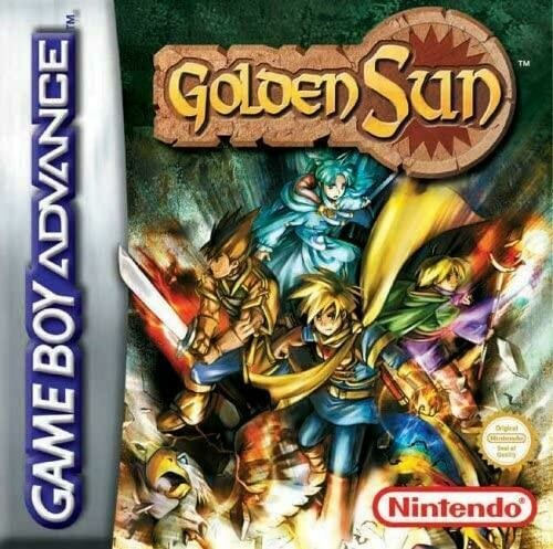 GOLDEN SUN (COMPLETE IN BOX)
